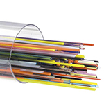 Bullseye Glass Stringers Mixed Colors - COE90