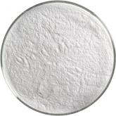 Bullseye Glass Opaque White Opalescent Powder Frit - COE90