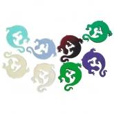 Dichroic Gecko, Assorted Colors, Pack of 2 - COE90