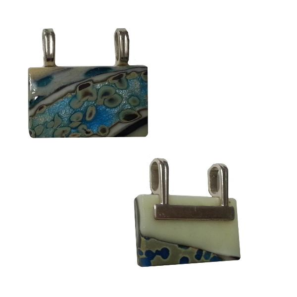 Aanraku Silver Plated Double Bar Bails