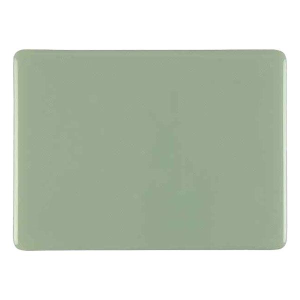 Bullseye Glass Celadon Green Opalescent, Thin-rolled, 2mm - COE90