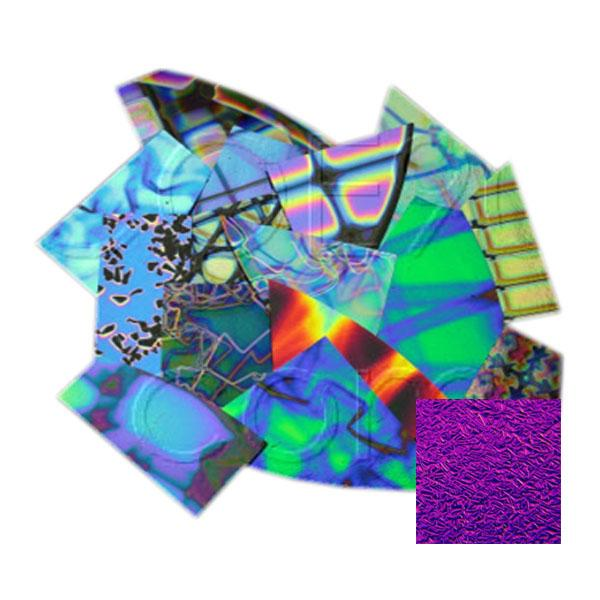 CBS Crinklized Dichroic Scrap by Weight - Patterned Thin Glass - COE90