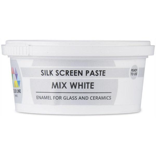 Color Line Silk Screen Paste, Mixing White 5.2 oz.