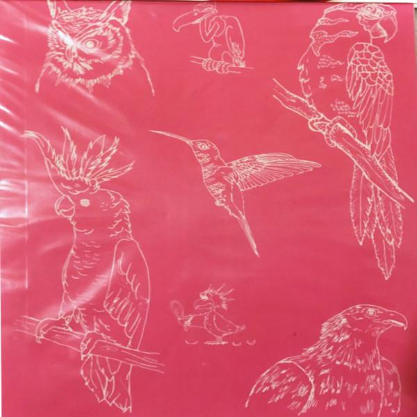 Designer Silk Screen - Birds 1 Pattern