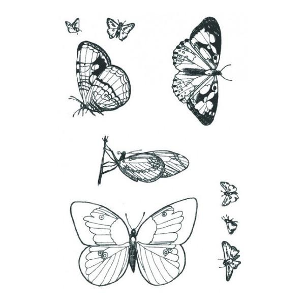 Designer Silk Screen - Butterfly-2 Pattern