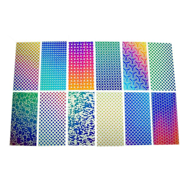 DichroMagic Dichroic Laser Etched Pattern Sample Set - COE90