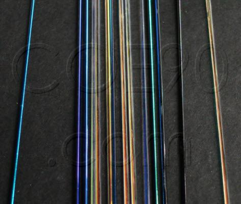 DichroMagic Dichroic Stringers, 1 mm,  Assorted Colors - COE90
