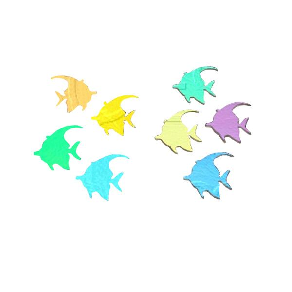 Dichroic Angel Fish, Assorted Colors, Pack of 2 - COE90