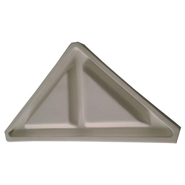 Divided Triangle Cast Draping Mold