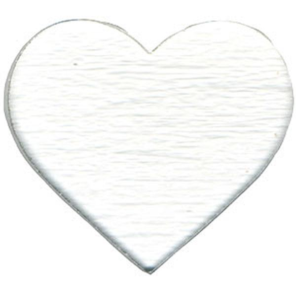 "Fusible 2"" Clear Hearts, Pack of 3 - COE90"