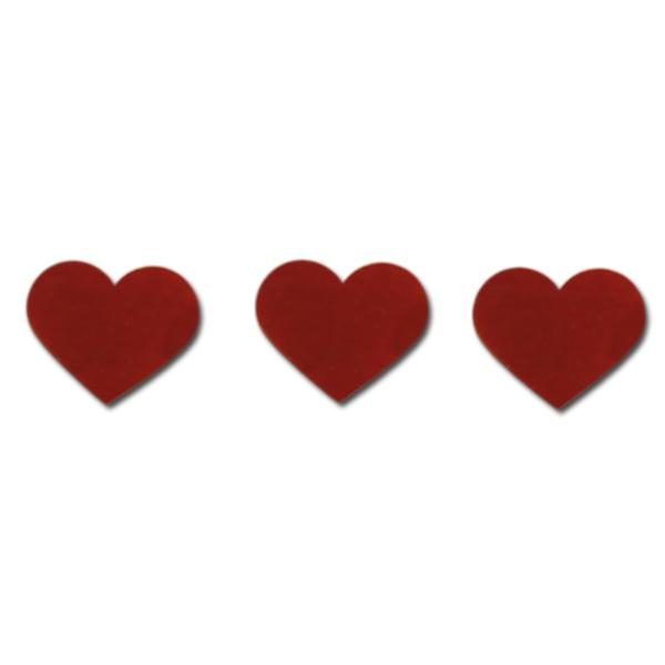 "Precut 2"" Red Hearts, Pack of 3 - COE90"