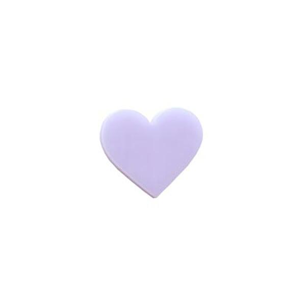Precut Heart Lavender - Pack of 5 - COE90