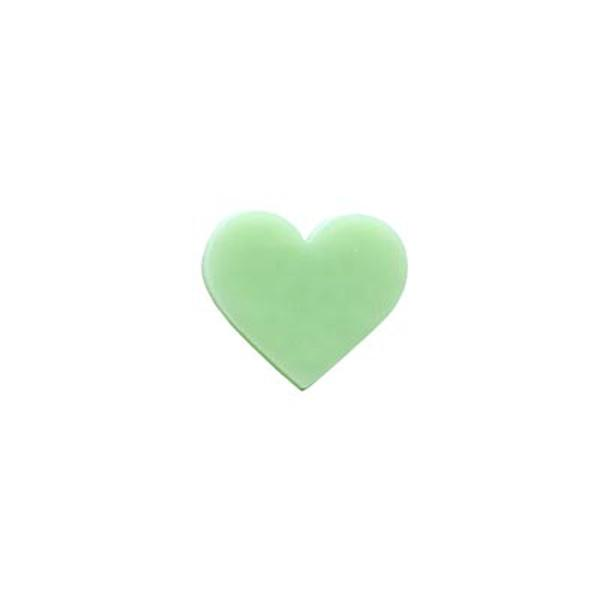 Precut Heart Mint Green - COE90