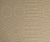 Hot Patterns Earthenware Textured Fusing Tile