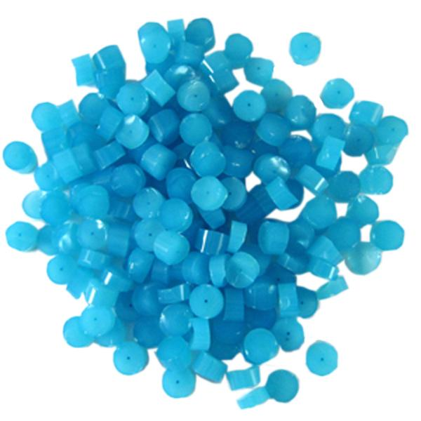 Light Cyan Opalescent Dots - COE90