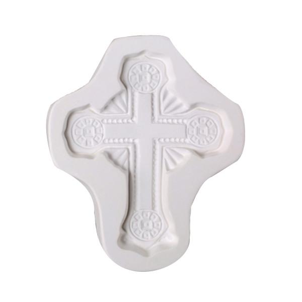 Ornate Cross Casting Mold