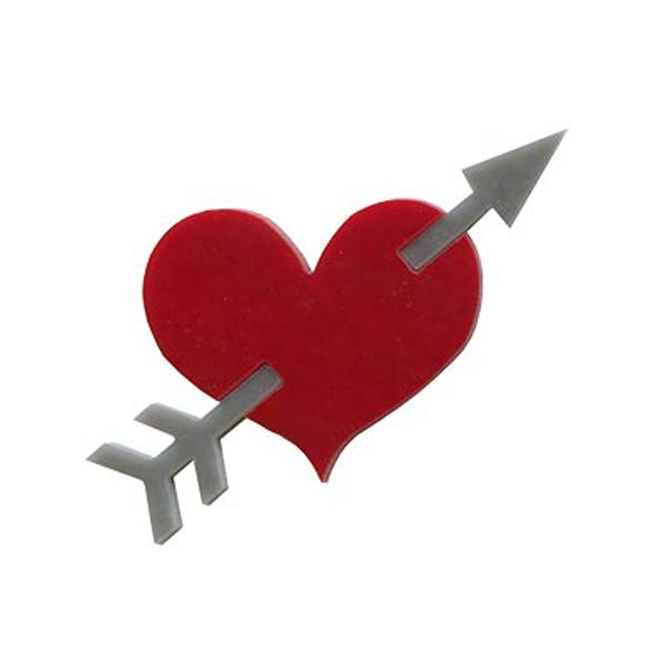 Precut Heart with Arrow - COE90