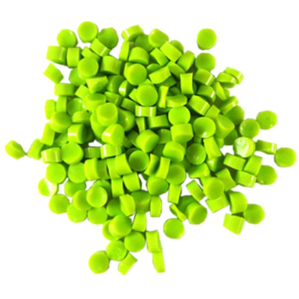 Spring Green Opalescent Dots - COE90